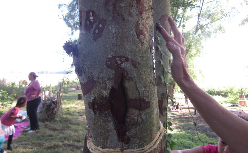 Fête de l'arbre  à Abbecourt à la mare des Pâtis