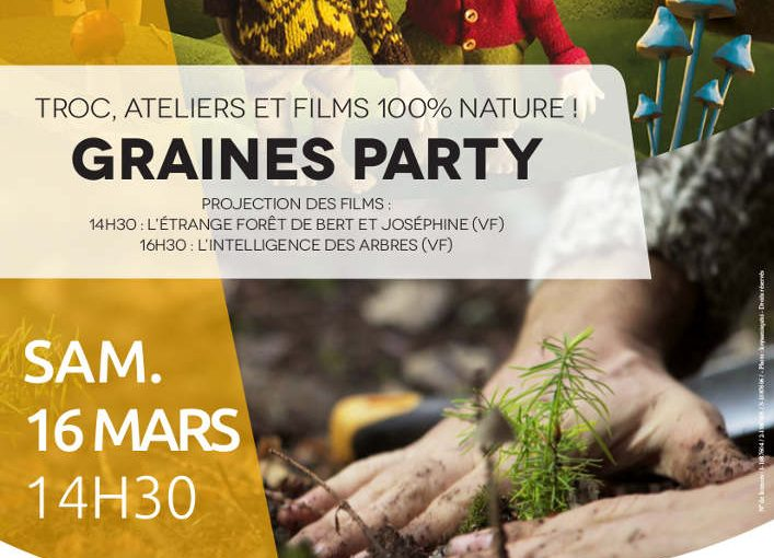 affiche GRAINES PARTY