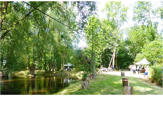 Fête de l'arbre  2019 à la mare des Patis à Abbecourt