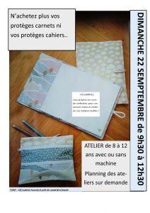 atelier protege cahier