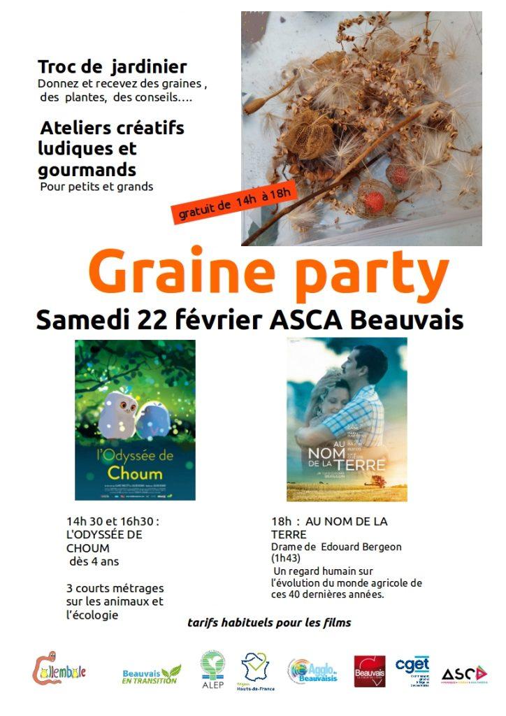 graines parties Beauvais
