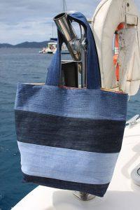 Atelier  reporté : recycler vos textiles : un sac en jean @ Ecospace de la Mie au Roy