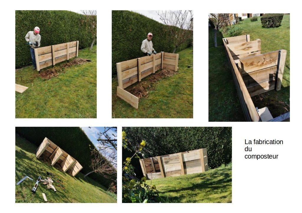 Vos images Tous au compost : Fabrication d'un composteur 3 bacs