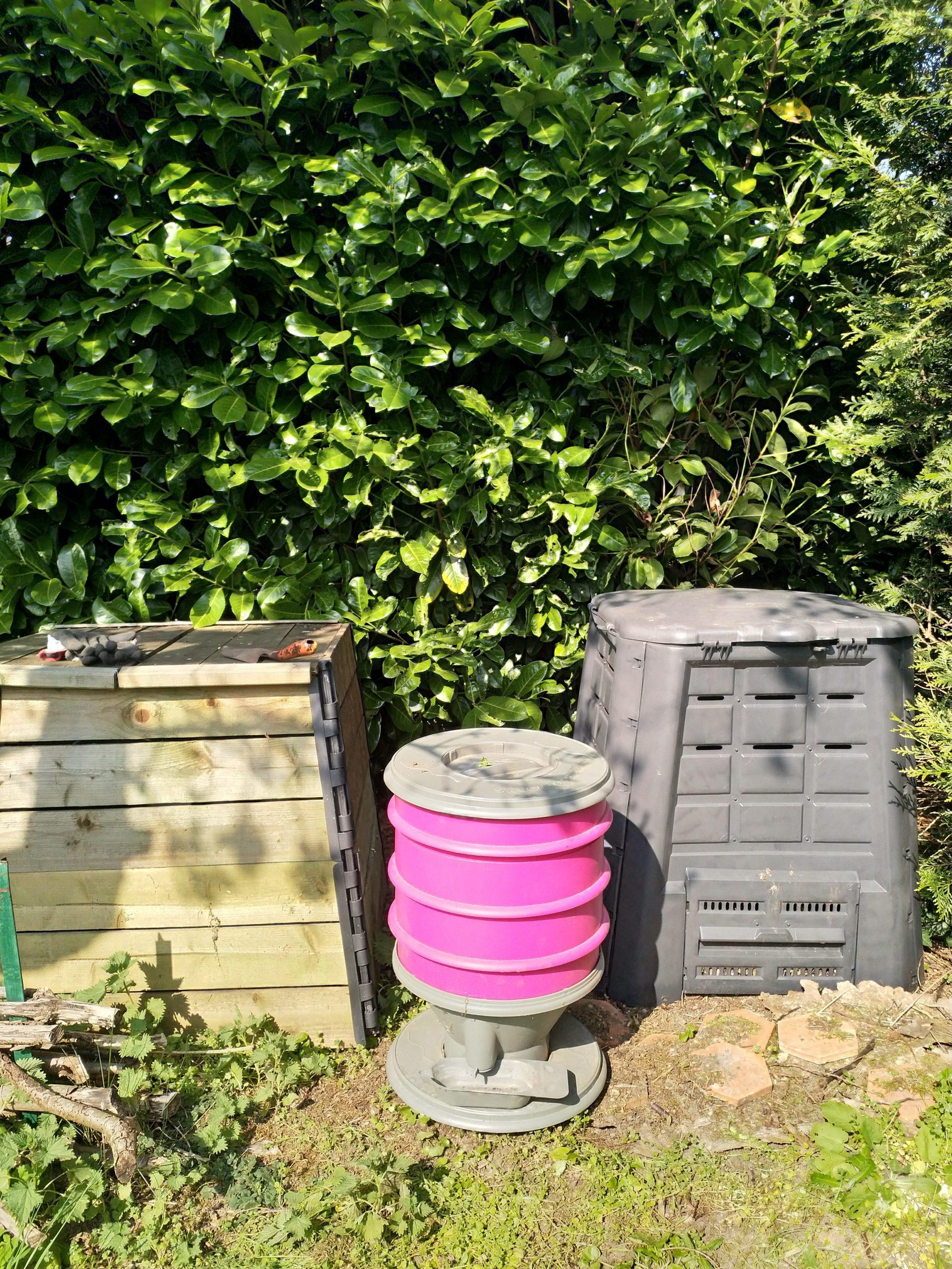 Vos images Tous au compost : lombricomposteur citadin rose