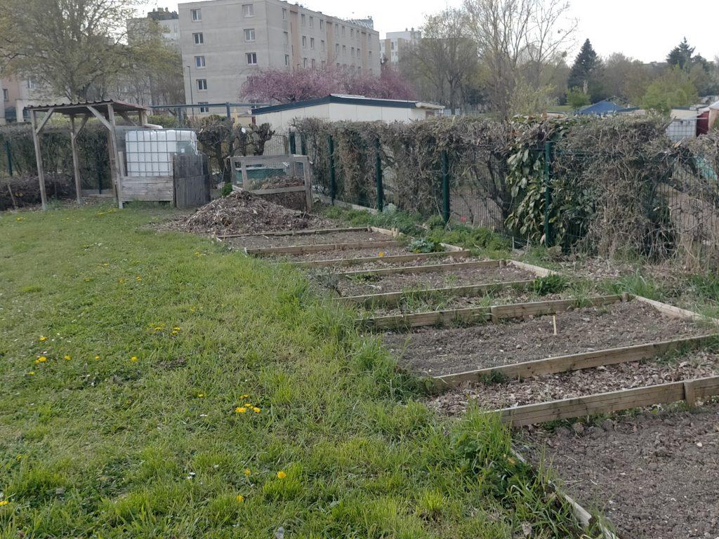 Jardins partagés de la bande florale