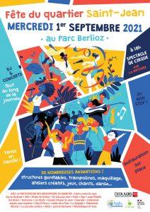 Stand fête de quartier St Jean @ Parc Berlioz quartier St Jean